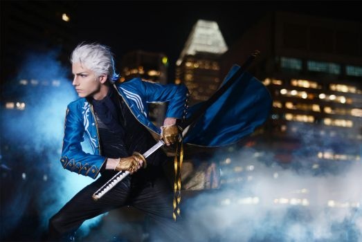 Devil May Cry 3 - Vergil by darcywilliam