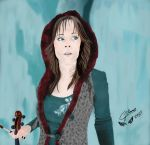 Lindsey Stirling - Crystallize by CJRamosArt