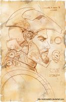 TLIID 156, Da Vinci's Iron Man, part 2 by AxelMedellin