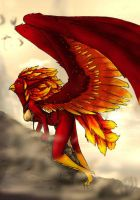 .:At: Phoenix harpy:. by forgetSanity