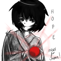 Pray for Japan by Anji-Chan
