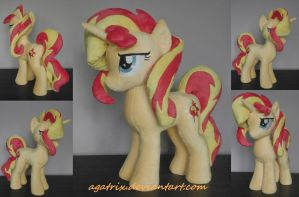 Sunset Shimmer plush by agatrix