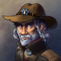 Faces of Wildstar - Fedrick Oglethorpe by evion