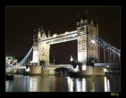 The Tower Bridge by mandrake975