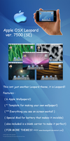 Apple OSX Landscape for iphone by GeekGod4