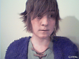 HTTYD cosplay - Give a little smile, Hiccup [GIF] by Hukkis