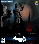 2014 SDCC Comic Con SOUVENIR BOOK | BATMAN 75 by STRALLENT