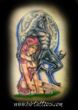 Red Riding Hood by blrtattoos