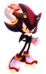 Shadow The Hedgehog by Fentonxd