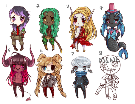 FREE ADOPTS* by vehnny