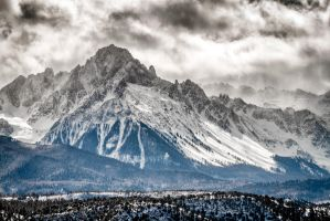 Mt. Sneffels by dkwynia