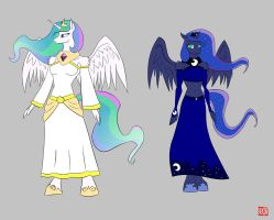 The Rulers of Equestria by lordvader914