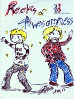 Reeks of Awesomeness!!! by Arikado12