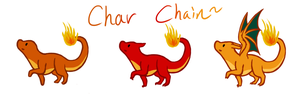 Charmander Chain by Kavyrie