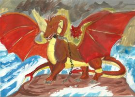 Dragon who bring the storm by Victoriaa1