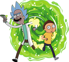 Rick and Morty. by Wazzaldorp