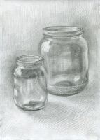 Two Jars. 2007 by Yudaev