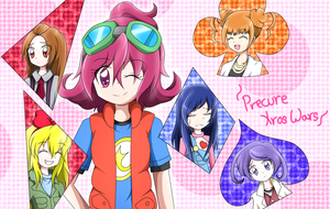 Precure Xros Wars (? by xLeylaSapphire