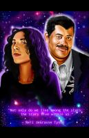 My Girlfriend and Neil deGrasseTyson by EclecticNinja