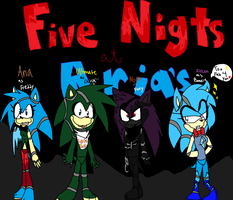 Five Nights at Aria's by AriatheHeadgehog