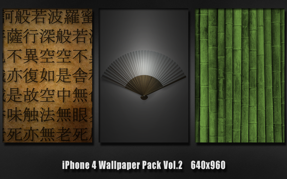 iPhone 4 Wallpaper Pack Vol.2 by GiggsyBest