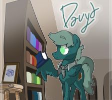 Davyd, El Booksmith by Trace-101