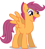 Scootaloo All Grown Up by dlazerous