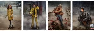 Dead of Winter Characters 03 by fdasuarez