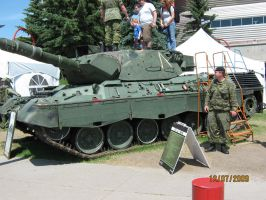 Calgary Stampede: Leopard C2 by ChapterAquila92