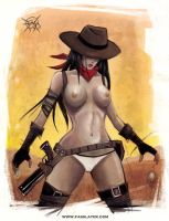 Cowgirl by FASSLAYER
