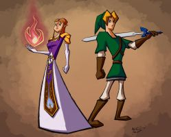 Defenders of Hyrule by Xelioth