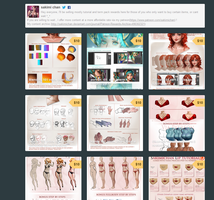Gumroad online store  for tutorials +voice overs! by sakimichan