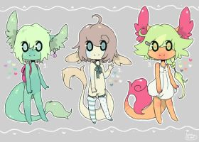 Sugar Babies ~ Set 2 (closed) by LunarAdopts
