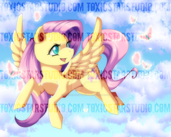 Sharing Kindness .:. Fluttershy by ToxicStarStudio