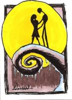Love Sketch Card by Fellhauer