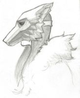 wolf mask by sparkyrabbit