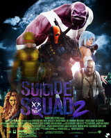 Suicide Squad 2 movie poster by ArkhamNatic