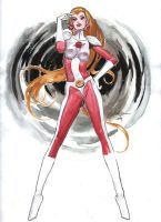 SATURN GIRL by synthetikxs