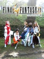 Final Fantasy IX time by KuroSy