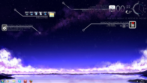 My Dream Skin Rainmeter (German) by Zer031