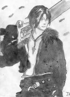 Squall Leonhart by DavidWoods