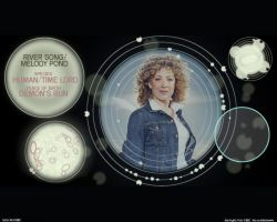Tardis Scanner Mk 3:River Song by rook971