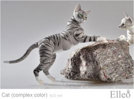 Bjd Cat Elleo 08 by leo3dmodels