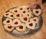 Valentine biscuits by Shoshannah84