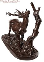 Deer Sculpture Study 2 by Twarda8