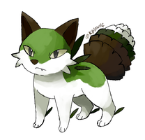 Fakemon Pinex by Kipine