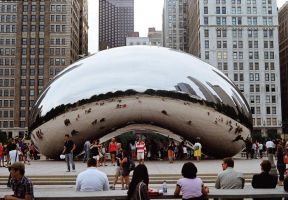 'Cloud Gate' by 501JOXTER