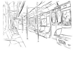 _+Metro lineart by x-m4n