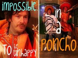 The Mighty Boosh_Poncho by Bardagh