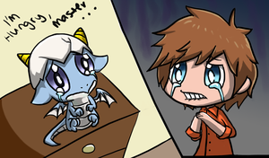 MapleStory : I'm Hungry... by SharkTuna
